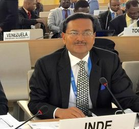 India's Permanent Representative to the United Nations offices in Geneva.