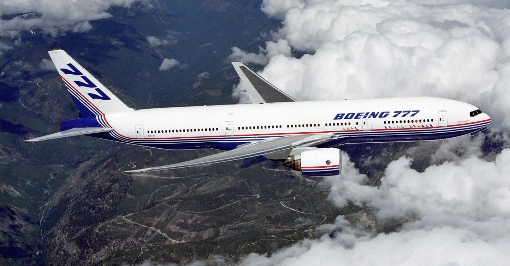 Boeing 777 (Photo courtesy: Wikipedia)