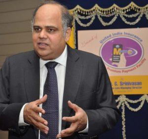 G. Srinivasan (Photo courtesy: The Hindu)